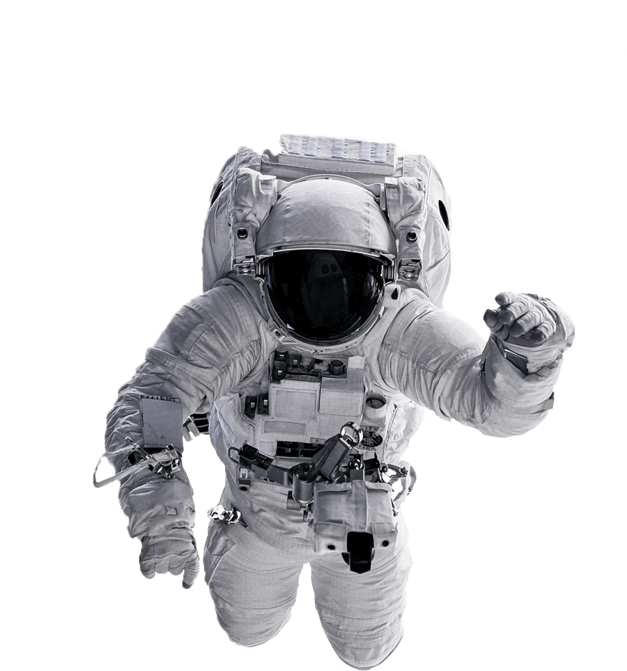 Astronaut solo hero image